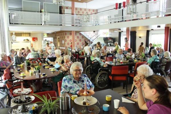 Hollanda'da yaşlıların yaşadığı bağımsız bir huzurevi ayda 30 saatlik gönüllü çalışma