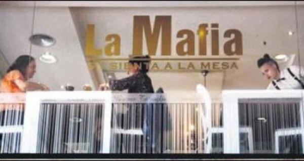 La Mafia' isimli restoranlar ?
