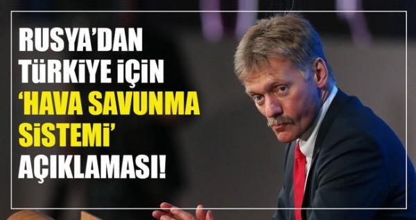 """""""Rusya Türkiye'ye hava savunma sistemi sağlayabilir"""""""