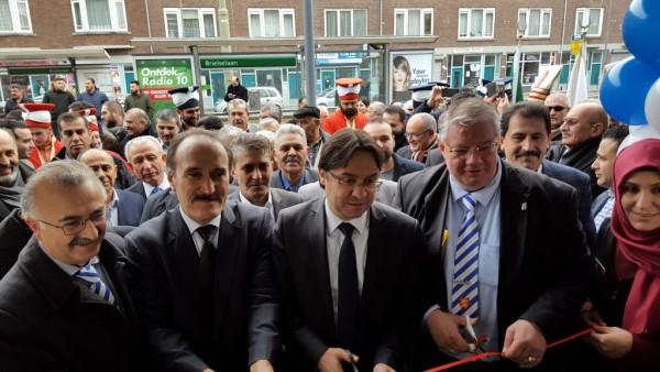 R'dam Ülkü Ocağı yeni binası Versaar dualar ile açıldı