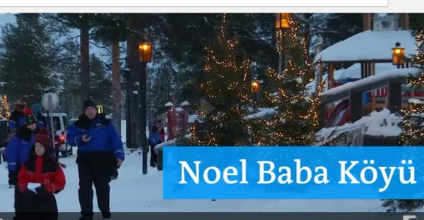 Finlandiye'de Noel Baba Köyü