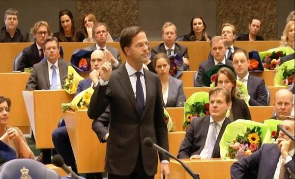 Hollanda Temsilciler Meclisi yemin ederek görevlerine başladılar