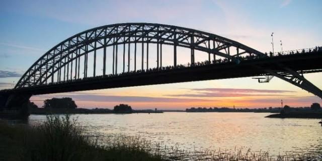 NL'de 101. geleneksel ''Dört Gün Yürüyüşü'' başladı