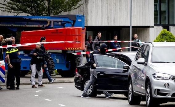 Hollanda'da radyo istasyonunda rehine krizi