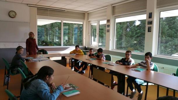 HDV'den Camilerde Türkçe Dersleri Seferberliği