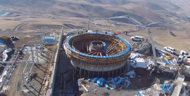 Türkiye'nin En Büyük Gözlemevi İnşaatı Erzurum'da Devam Ediyor!