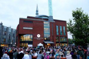 Hollanda'da HDV Bağlı 'Cami Meydanı'nda sokak iftarı