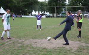 HOKAF Futbol Turnuvasi ve Kültür Söleni Amsterdam'da Yapildi