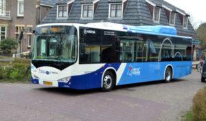 Hollanda'da otobüs şoförleri zam yalebiyle greve gitti