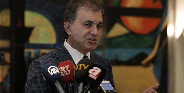 AB Bakanı Ömer Çelik'ten Hollanda'ya tepki