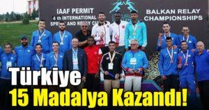 İlk Gününde Türkiye 15 Madalya Kazandı!