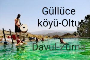 Güllüce köyü: Davul- zurna eşliğinde serinlik