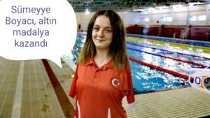 Paralimpik Avrupa Şampiyonası'nda Sümeyye Boyacı, altın madalya kazandı