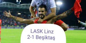 Beşiktaş yenilse de tur atladı! İ
