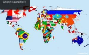 Dünyanın en güçlü ülkeleri,