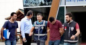Ermenistan'dan Hollanda'ya giden 20 ton madeni gasp eden kişiler yakalandı