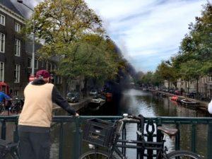 Hollanda'da Korkutan Yangın