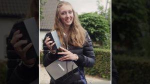 Samsung, 'Appel' köyünde bedava Galaxy S9 dağıttı