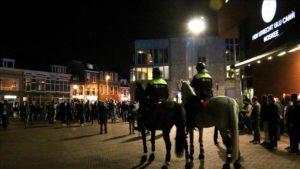 Hollanda'da ırkçı gruptan 'İslam karşıtı' gösteri
