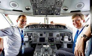 Yolcu Uçağını Amsterdam'dan İstanbul'a Bir Kral Getirdi