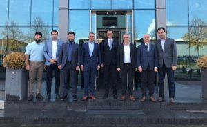 Ukrayna Den Haag Büyükelçisi Vsevolod Chenstov Özgazi Holding'i ziyaret etti.