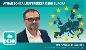 Ayhan Tonca lijsttrekker voor DENK in Europa