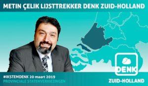 Metin Çelik lijsttrekker DENK Zuid-Holland