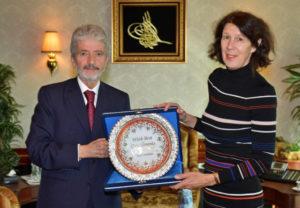 Büyükelçilerden Başkan Tuna'ya Ziyaret