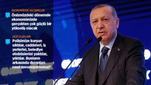 Cumhurbaşkanı Erdoğan: Türkiye'nin şahlanışını durduracak hiçbir fani güç yok