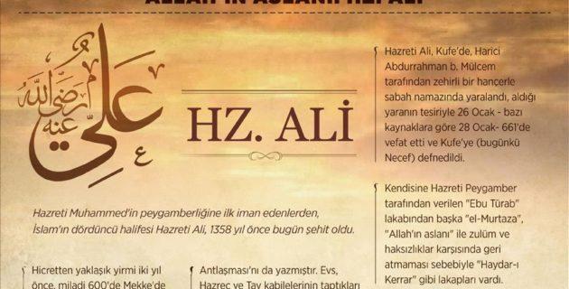 ALLAH'IN ASLANI: HAZRETİ ALİ