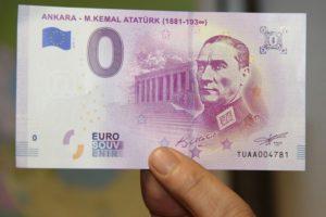"""Atatürk portreli Euro'ya Avrupa Merkez Bankası'ndan yalanlama! """" Biz Bastırmadık"""""""