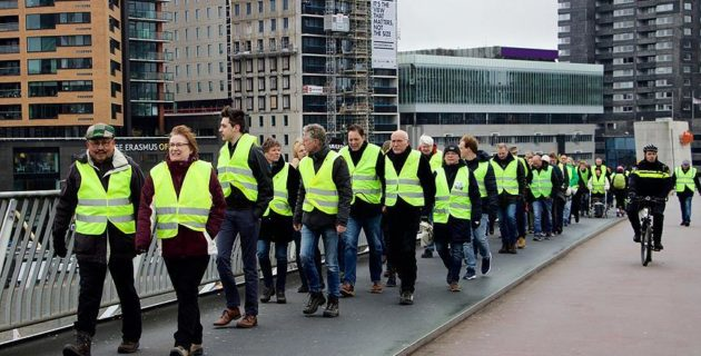 HOLLANDA'DA DOKUZUNCU KEZ MARK RUTTE PROTESTO EDİLDİ