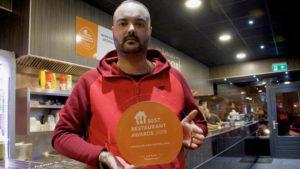 Hollanda'da yılın en iyisi bir Türk restoranı