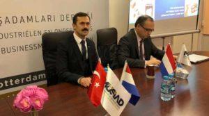 MÜSİAD Rotterdam yatırımcıları teşvik için teşvik etti