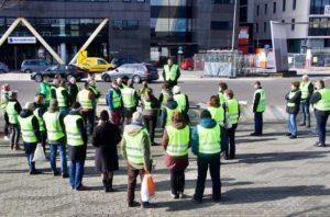 Hollanda'da sarı yelekliler, 14'üncü kez farklı kentlerde hükümeti protesto etti
