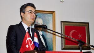 Hollanda'da Mehmet Akif Ersoy ve Çanakkale Şehitleri anıldı