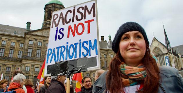 Hollanda'da ırkçılığa ve ayrımcılığa karşı gösteri