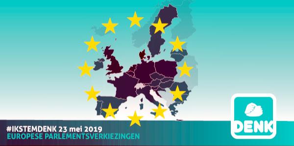 KANDIDATENLIJST DENK EUROPA IS BEKEND