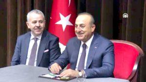 Dışişleri Bakanı Çavuşoğlu Hollanda'da – Amsterdam