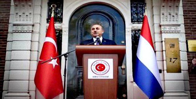 Bakan Çavuşoğlu, Amsterdam'da Başkonsolosluk Binasını Açtı