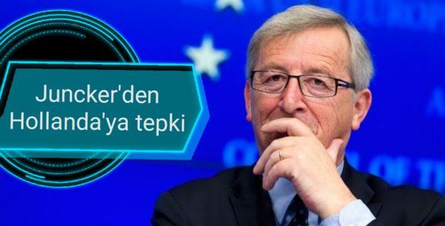 Juncker'den Hollanda'ya tepki