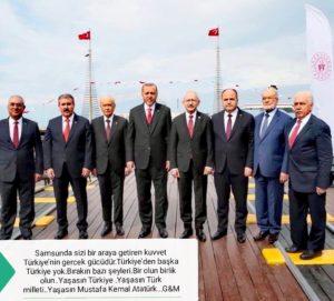 100.YILINDADEVLETİN ZİRVESİ SAMSUN'DAYDI
