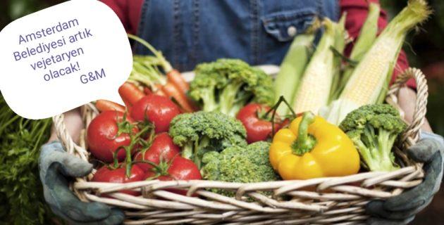Amsterdam Belediyesi artık vejetaryen olacak!