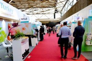 Hollanda'da Uluslararası Özel Etiket Ticaret Fuarı'nda Türk stantlarına ilgi