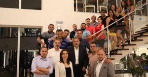 Almanya'dan gelen Türk Tur Operatörleri Marmaris'de
