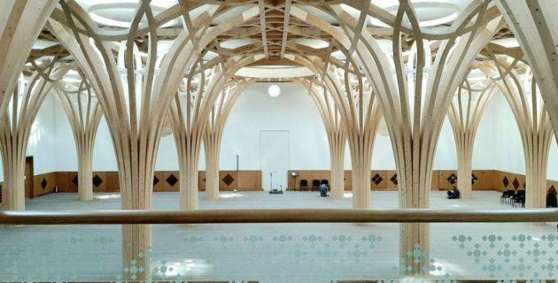 Avrupa'nın ilk eko-camisi İngiltere'de