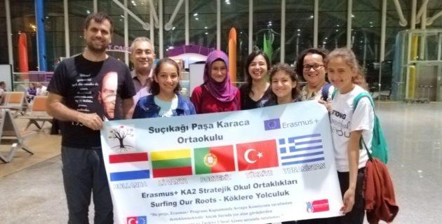Kültür Yolcuları Erasmus+ İle Hollanda'da