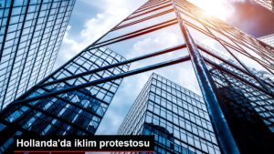 Hollanda'da iklim protestosu