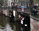 Hollanda'da köprüyü kapatan 130 çevreci aktivist gözaltına alındı