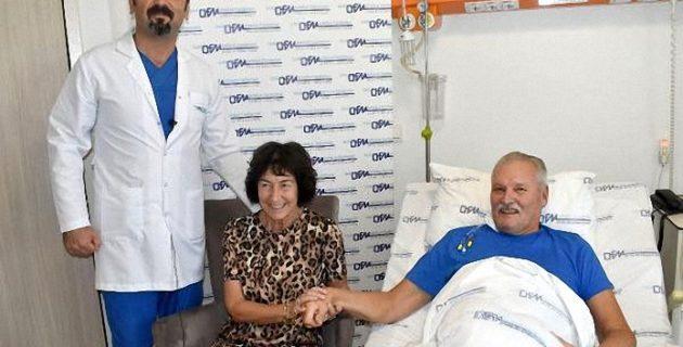 Tatilde kalp krizi geçiren turist, ameliyatla sağlığına kavuştu